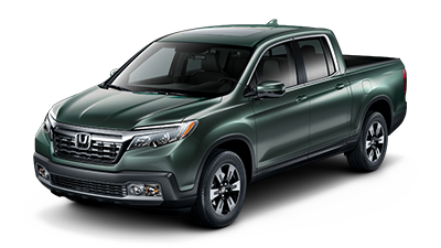 2019 Honda Ridgeline RTL-T in Forest Mist Metallic