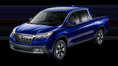 2019 Honda Ridgeline RTL in Obsidian Blue
