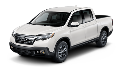 2019 Honda Ridgeline Sport in White Diamond