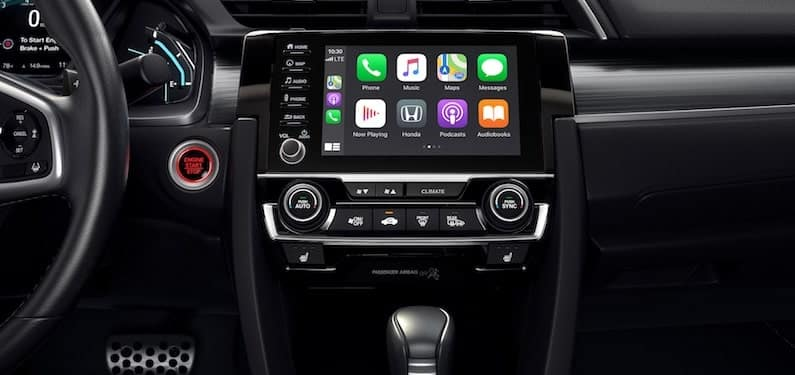 2020 Honda Civic With Apple CarPlay
