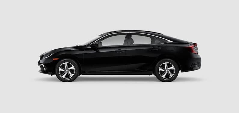 2020 Honda Civic Sedan LX Side Profile