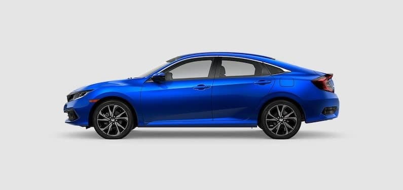 2020 Honda Civic Sedan Sport Side Profile