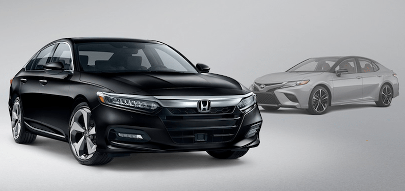 The 2020 Honda Accord and 2020 Toyota Camry