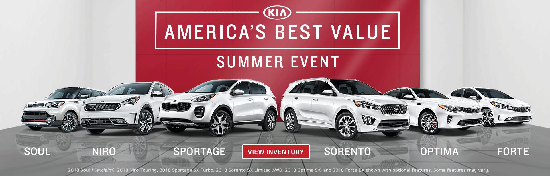 America's Best Value Summer Event at Beaverton Kia