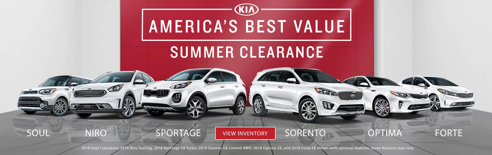 Kia America's Best Value Summer Clearance Event