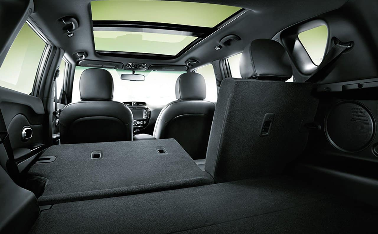 2019 Kia Soul 60/40 split folding seats