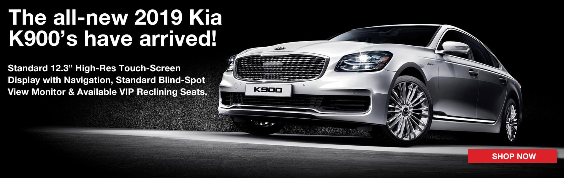 The all new 2019 K900 is here! Shop now!