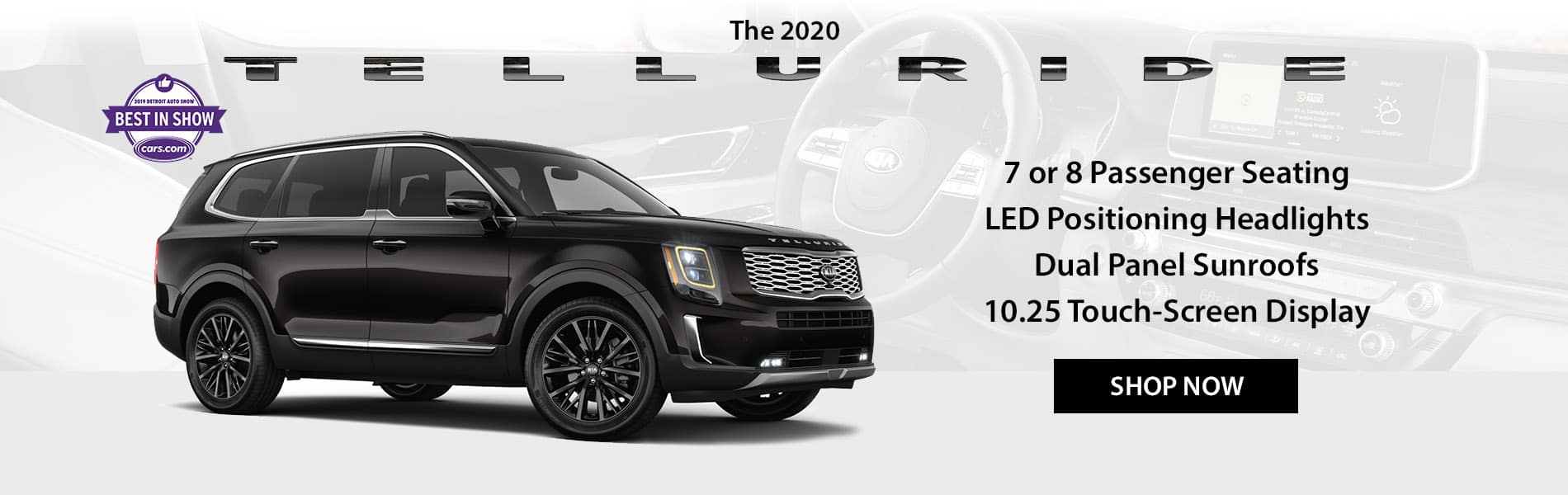 The first ever 2020 Kia Telluride is now available at Beaverton Kia.