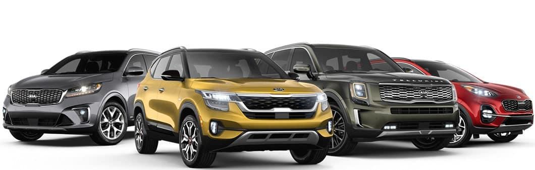 2020 Kia SUV Lineup