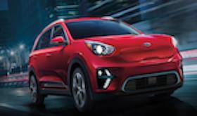 2020 Kia Niro EV Trim Comparison