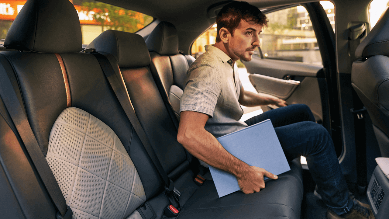 Rear seating 2018 Toyota Camry