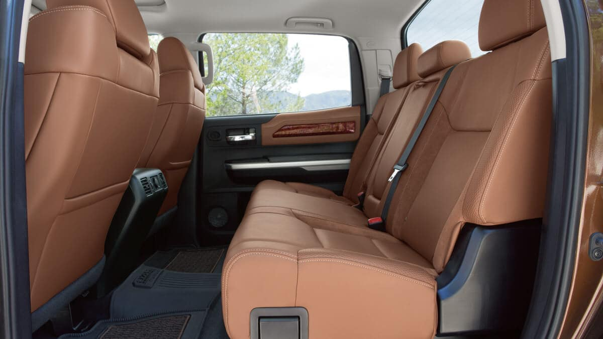 2018 Toyota Tundra Rear Seating