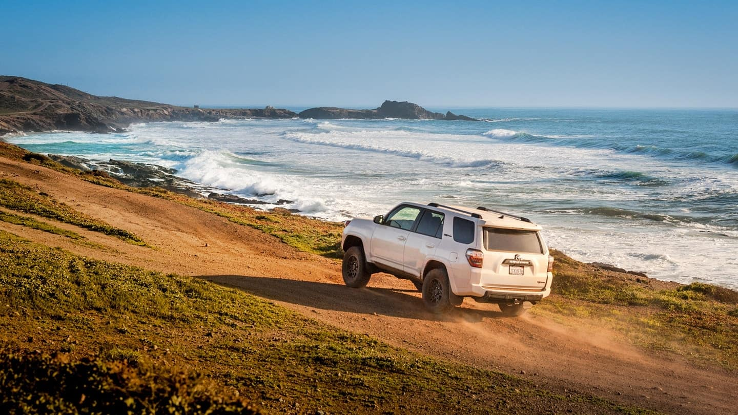 2018 Toyota 4Runner on the Beach