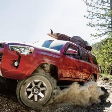 2018 Toyota 4Runner Driving