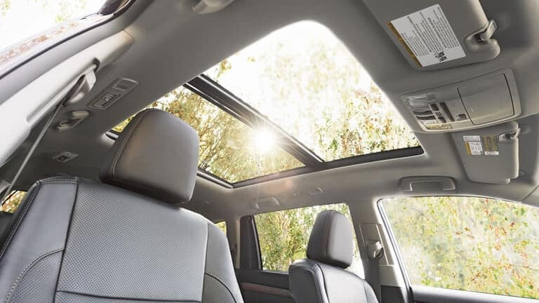 2018 Toyota Highlander Sun Roof