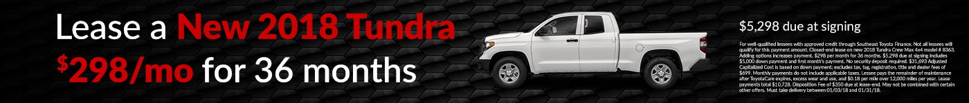 beaver toyota of cumming tundra lease