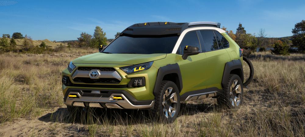 Future Toyota Adventure Concept