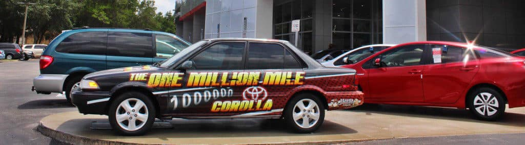 Million Mile Toyota Corolla