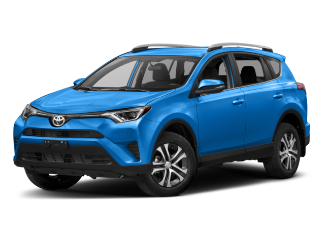 2018 Toyota RAV4 LE Blue