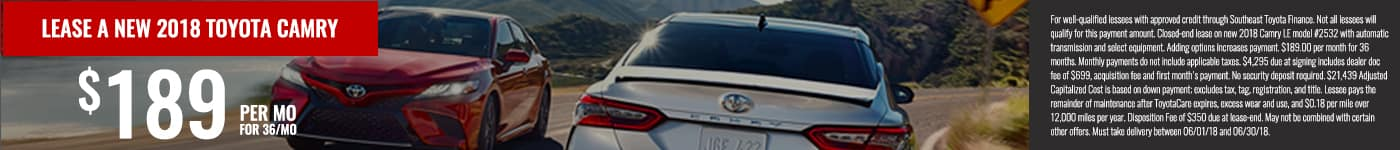 beaver toyota - camry lease