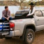 Toyota Tacoma with bed extender