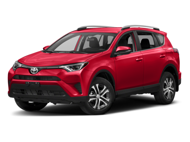 2018 Toyota RAV4 Red