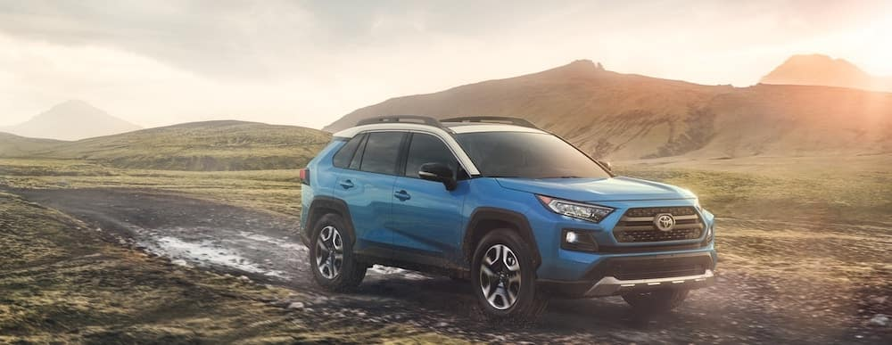 2019 Toyota RAV4 Adventure Blue