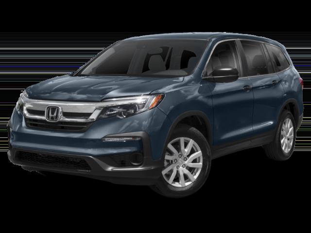 2019 Honda Pilot blue