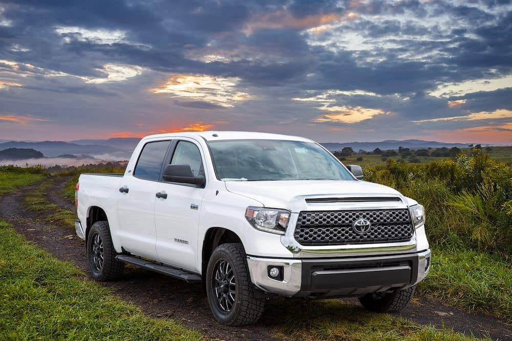Toyota Tundra XP in a field