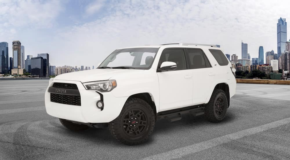 Toyota 4Runner XP Predator in the city
