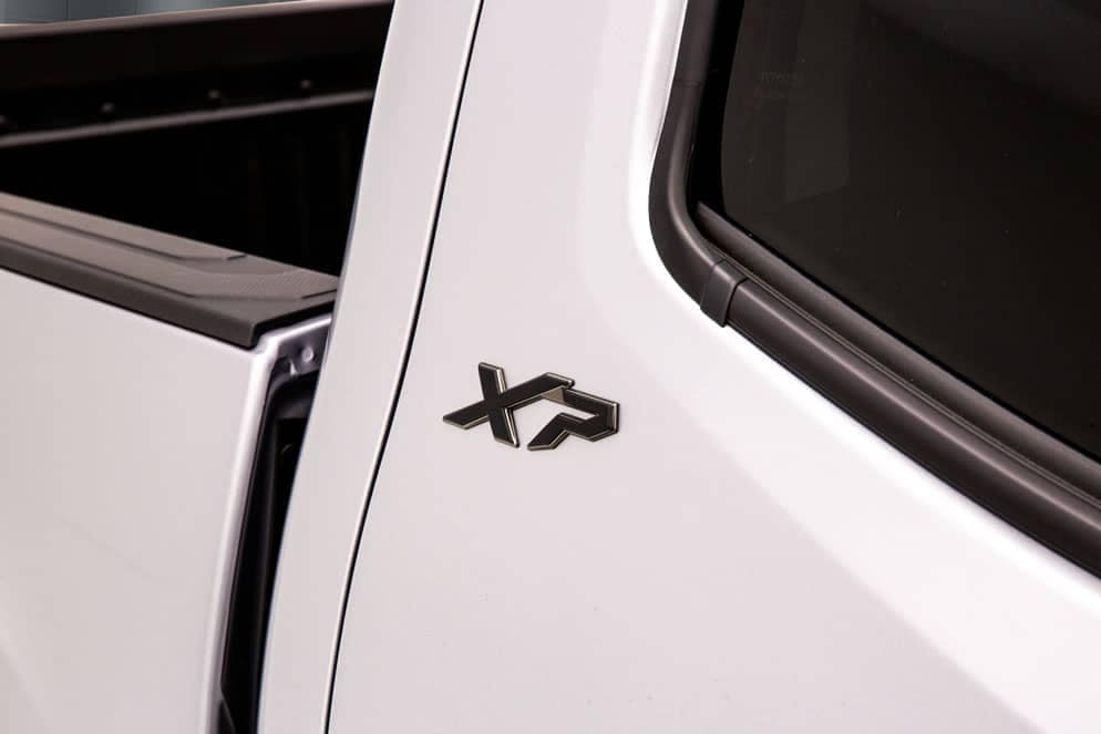 Toyota Tacoma XP badge