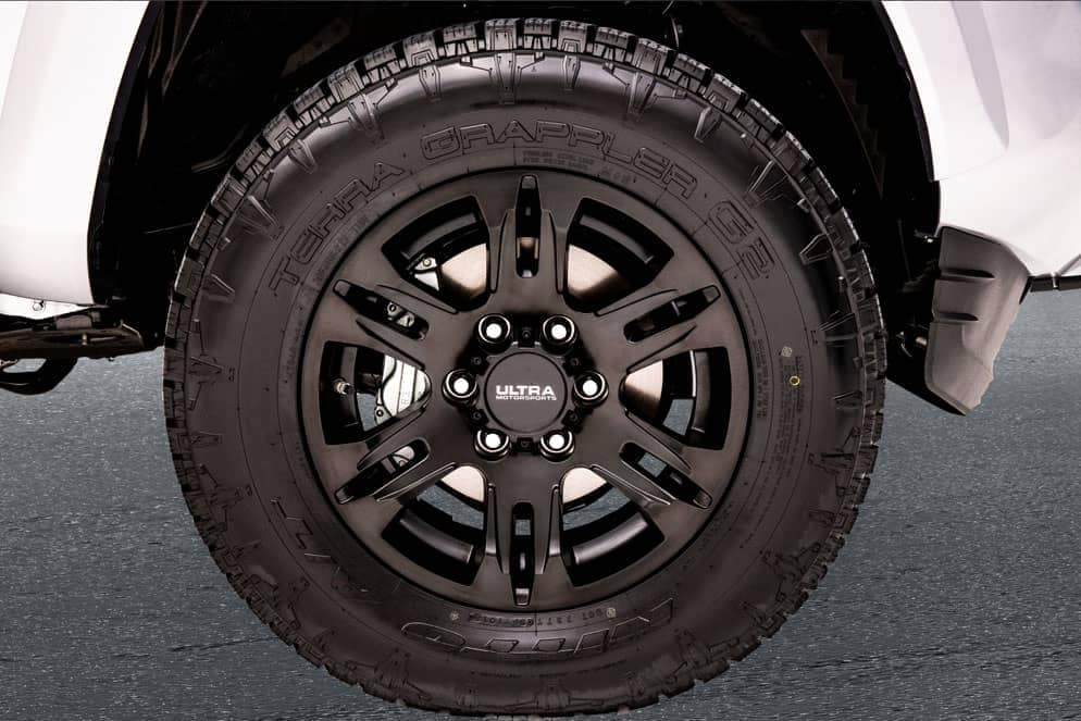 Toyota Tacoma XP wheel