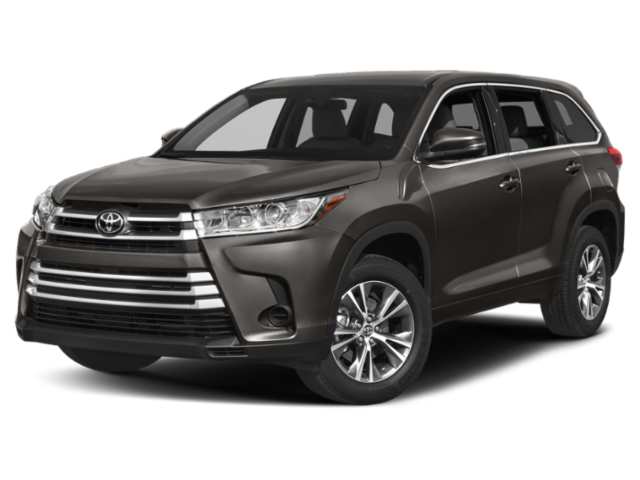 2019 Toyota Highlander LE AWD gray