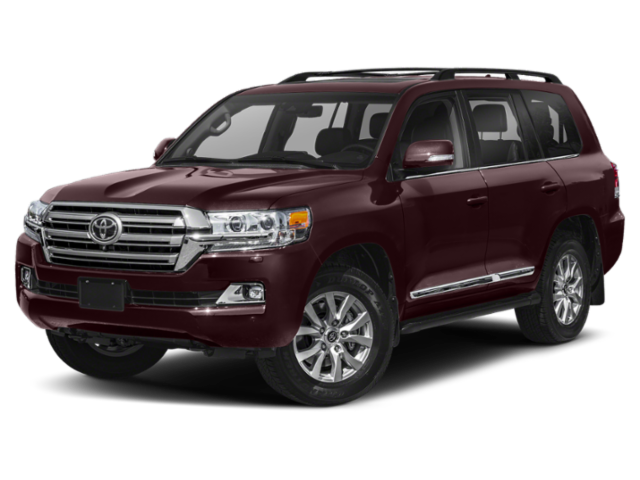 2019 Toyota Land Cruiser 2019 Toyota Land Cruiser burgandy