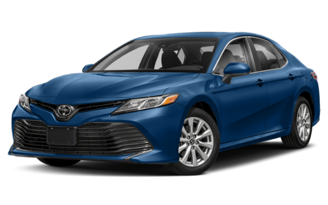 2019 Toyota Camry LE in blue