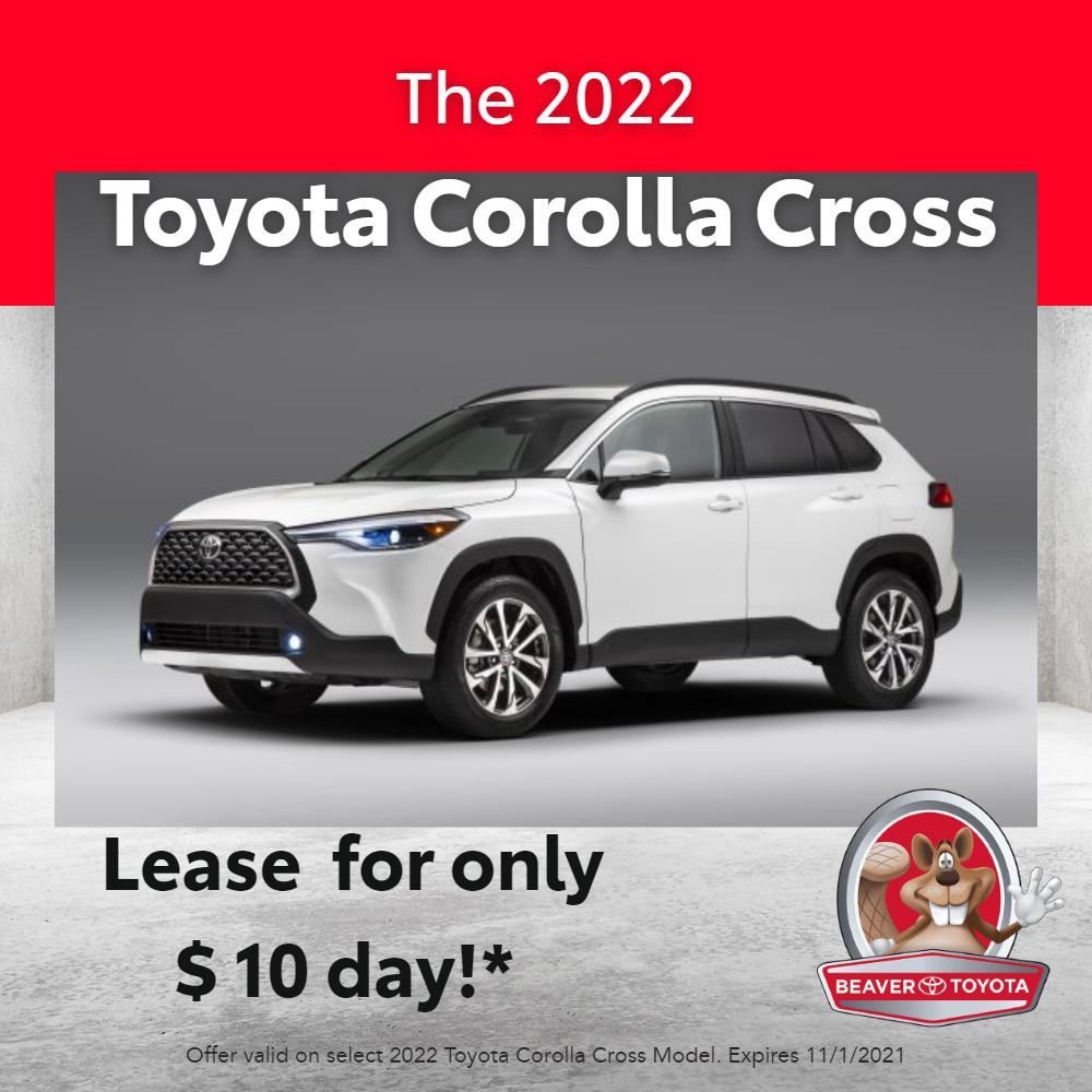 2022 Corolla Cross Lease