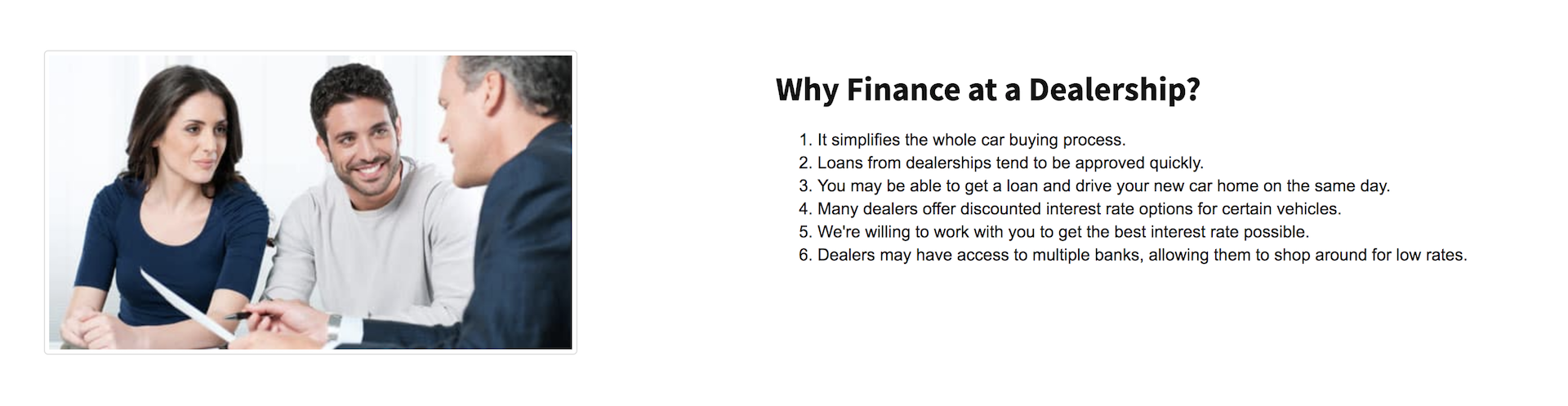 Why Finance