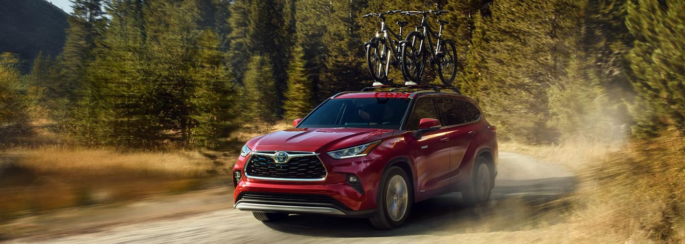 2020 highlander red AWD