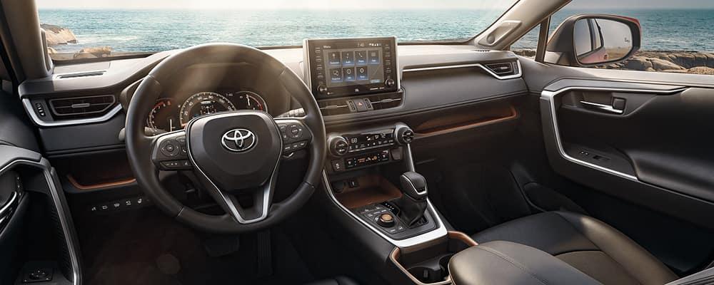 2021 RAV4 interior
