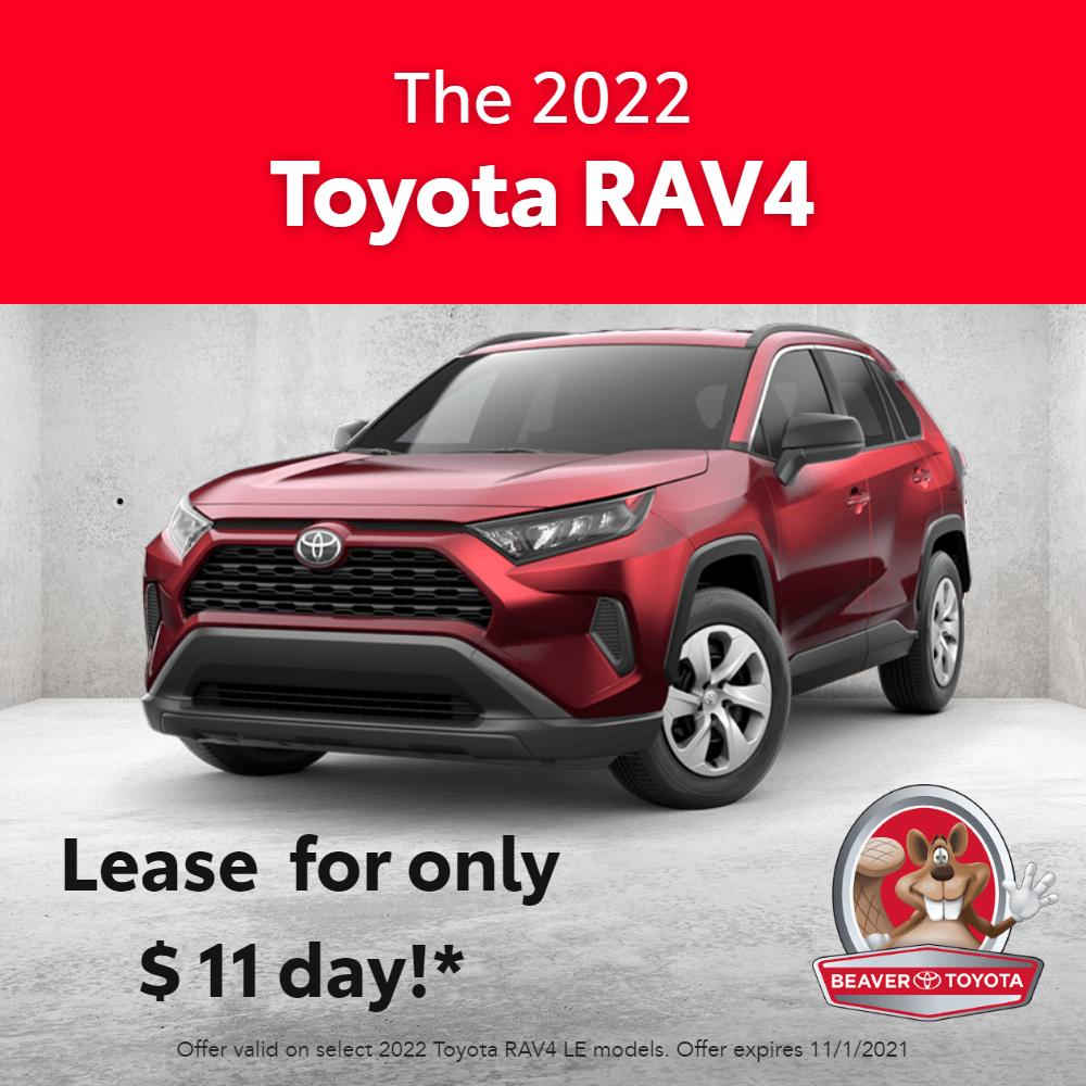 New 2022 RAV4 Lease