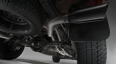 TRD performance exhaust