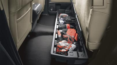 underseat storage tundra