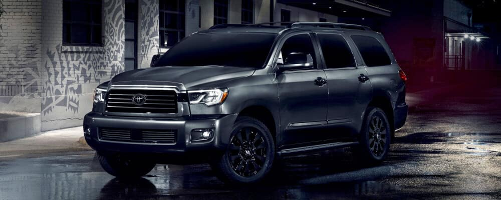2021 Toyota Sequoia Parked near city