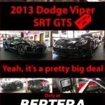 2013 Dodge Viper SRT GTS