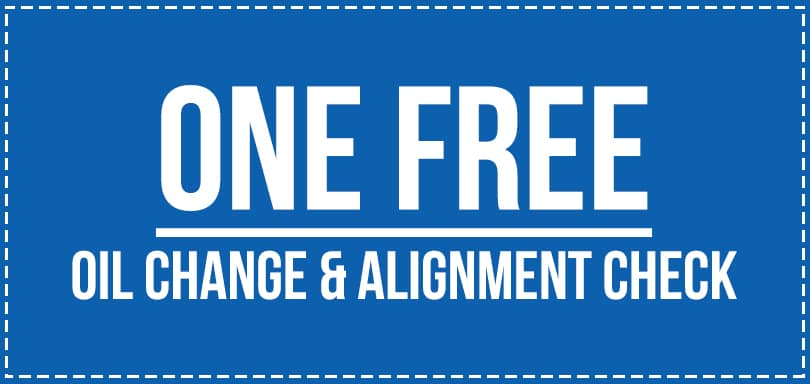 Free Oil Change and Alignment Check