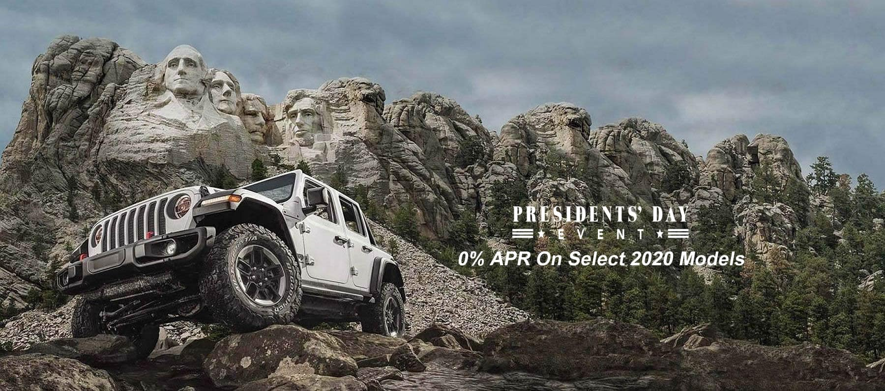 0% APR On Select New 2020 Models