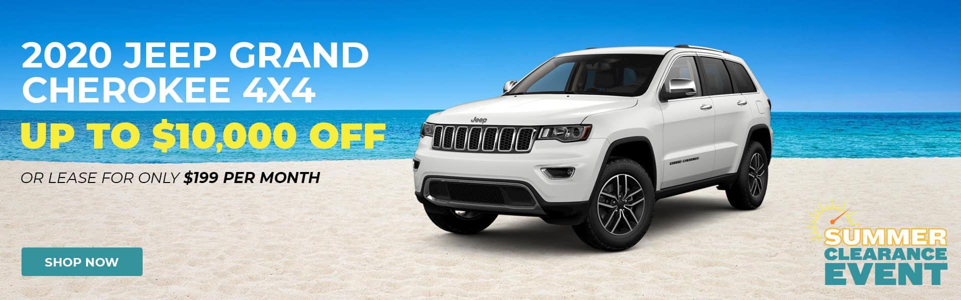 Summer Sale Jeep Cherokee