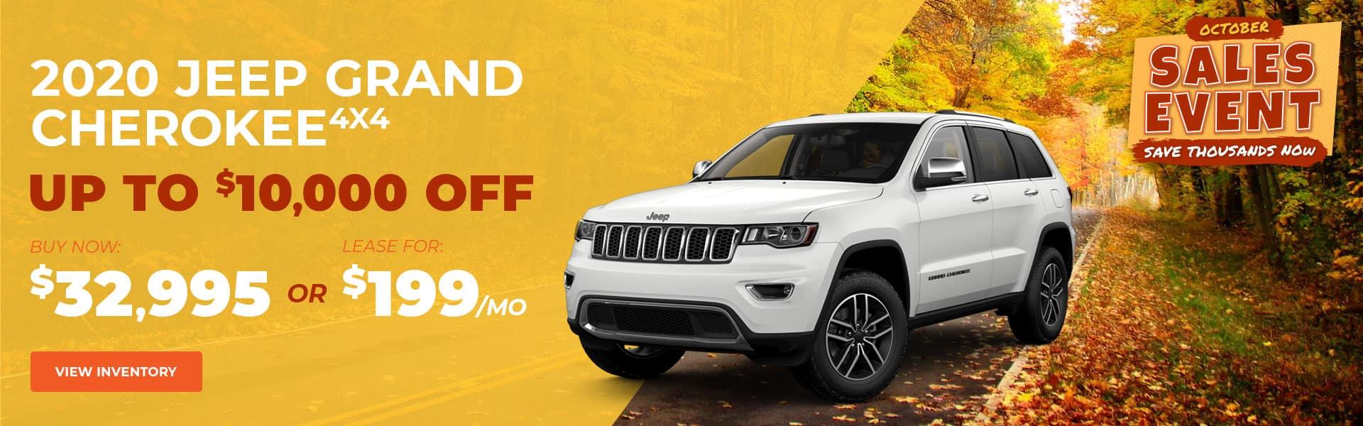 October Sales Event Cherokee