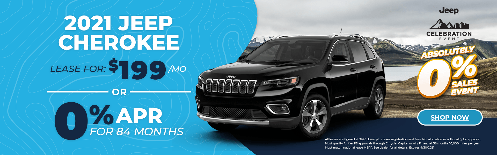 2021 New Cherokee – Jeep Celebration Event Alt