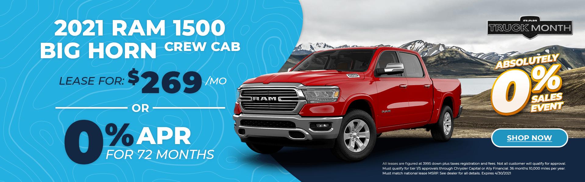 2021 New RAM 1500 – Truck Month Alt